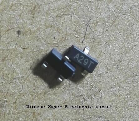 100 Uds AO3402 SOT23 A29T SOT-23 SOT nuevo MOS transistor FET