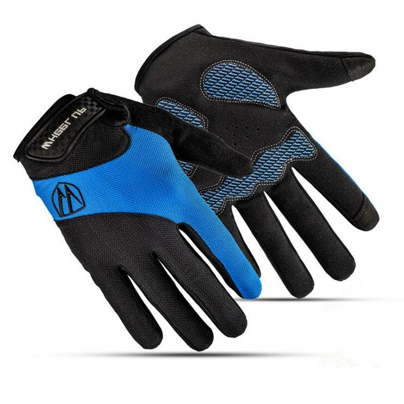1 paar Männer Radfahren Handschuhe Volle Finger Fahrrad Handschuhe Frauen Anti Slip Gel Pad Motorrad MTB Rennrad Handschuh Handschuh für Verkauf