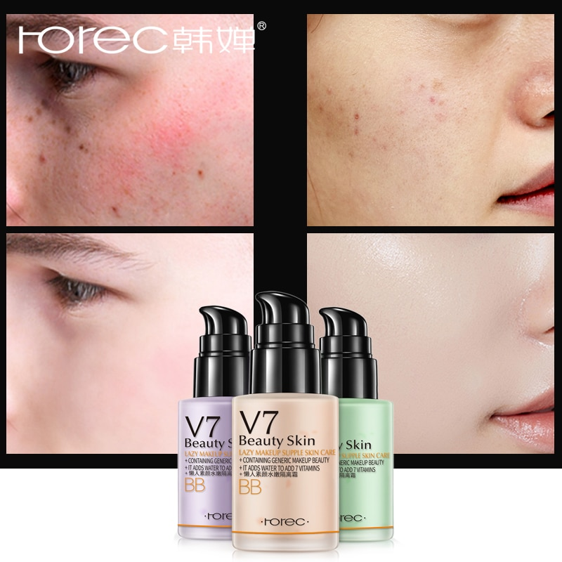 Cartilha Base da Fundação Líquido Creme Hidratante Rosto Primer Maquiagem Primer Instant Pore Eraser BBCream Pele Lisa