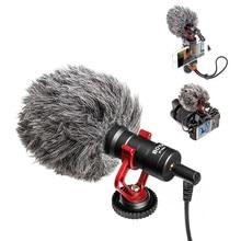 BOYA BY-MM1 VideoMicro Compact sur caméra enregistrement Microphone pour Canon Nikon Sony DJI Osmo DSLR lisse Q 4 Feiyu cardan VS RODE