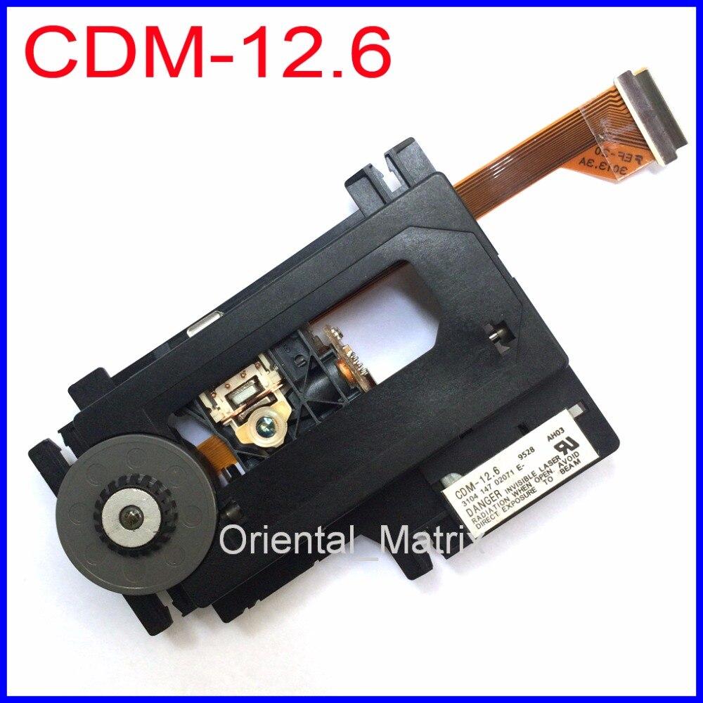Unidade de Montagem Frete Grátis Original Óptico Pick up Cdm12.6 cd Lente Laser Óptica Pick-up Cdm-12.6
