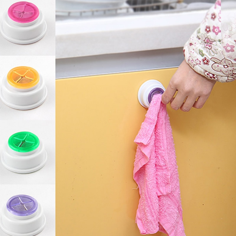 Hot wall shelf Wash cloth clip holder clip dishclout storage rack bath room storage hand towel rack Bathroom Kitchen Supplies