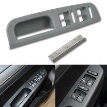 Poignée gris pour fenêtre intérieure gauche   Panneau daccoudoir, lunette, décoration intérieure de poignée pour VW Passat Golf Jetta MK4