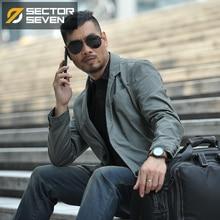 SECTOR SEVEN 2020 new Waterproof Military Style Suit Jacket Male Tactical Blazers Men Coat Slim Fit Cargo Pocket Design