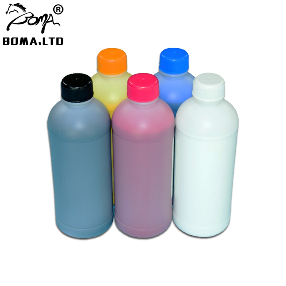 BOMA. LTD 1000 ml/PC DTG Tinta Têxtil Em Massa Para Epson SC-F2000 SC-F2100 T7251-T7254 F2000 F2100 Vestuário Impressora de Tinta