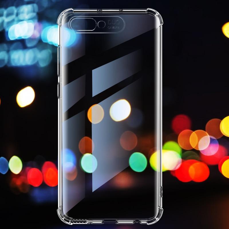 Funda antigolpes para Huawei Honor10 V10 Nova3 3i 4 cristal transparente TPU 360 grados cubierta de protección