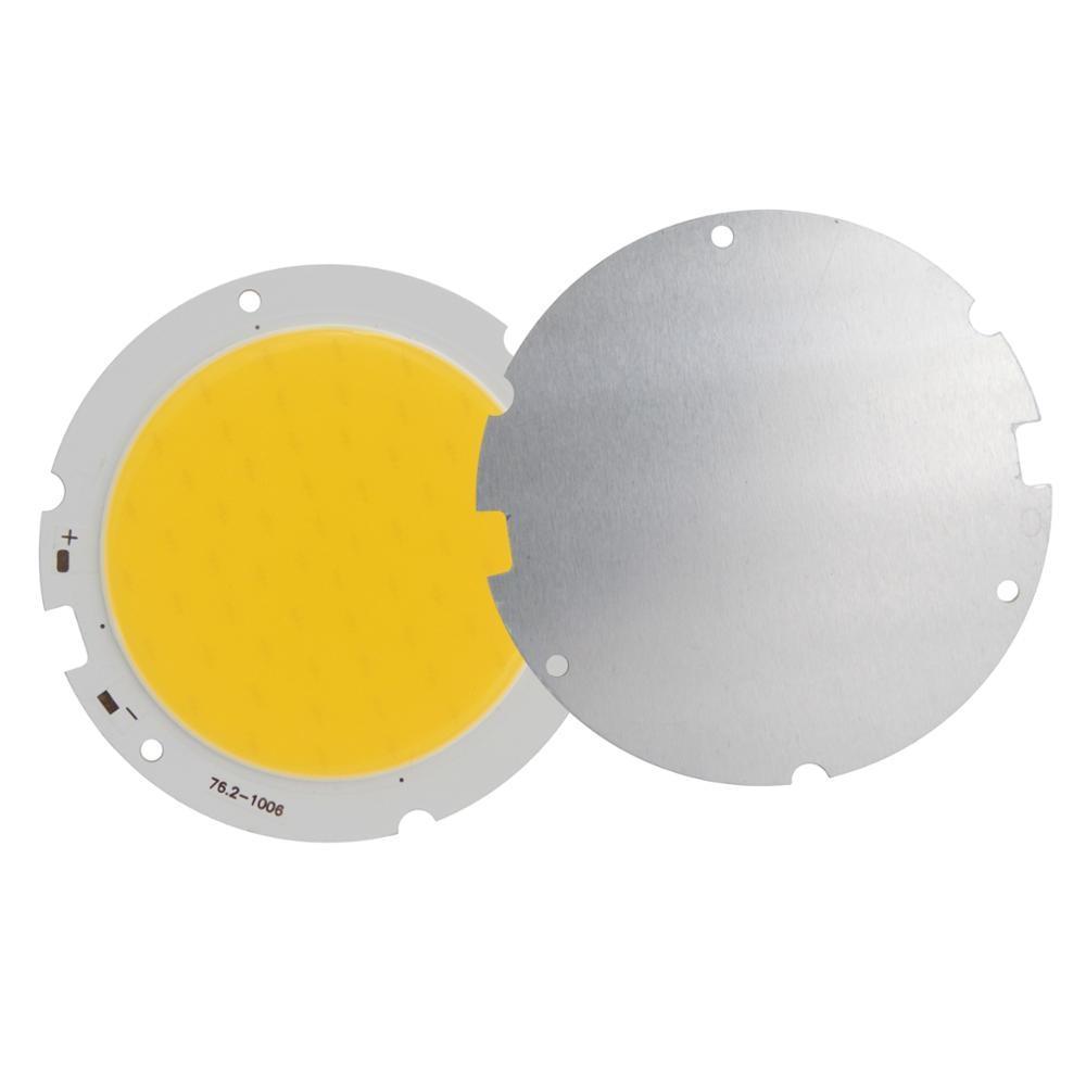 10pcs/Lot promotion round 76mm 60mm LED COB Light Source High Power lumen Module 20W 30W COB Warm Nature White for downlight