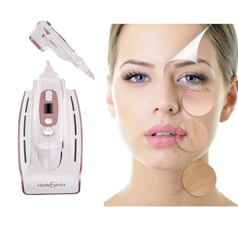 Ultrasonido MINI HIFU rejuvenecimiento de la piel RF Lifting terapia de belleza de alta intensidad enfocada ultrasonido cuidado de la piel arrugas eliminar