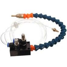 1 Uds., tubo de aire de 8mm, sistema de pulverización de lubricante refrigerante para fresadora de torno CNC, máquina de molienda