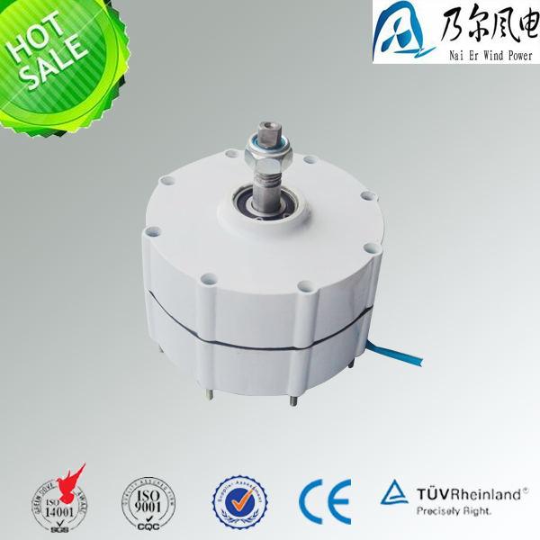 Alternador magnético permanente de 12 v 24 v 48 v 600 w de baja rpm para uso de generador de viento