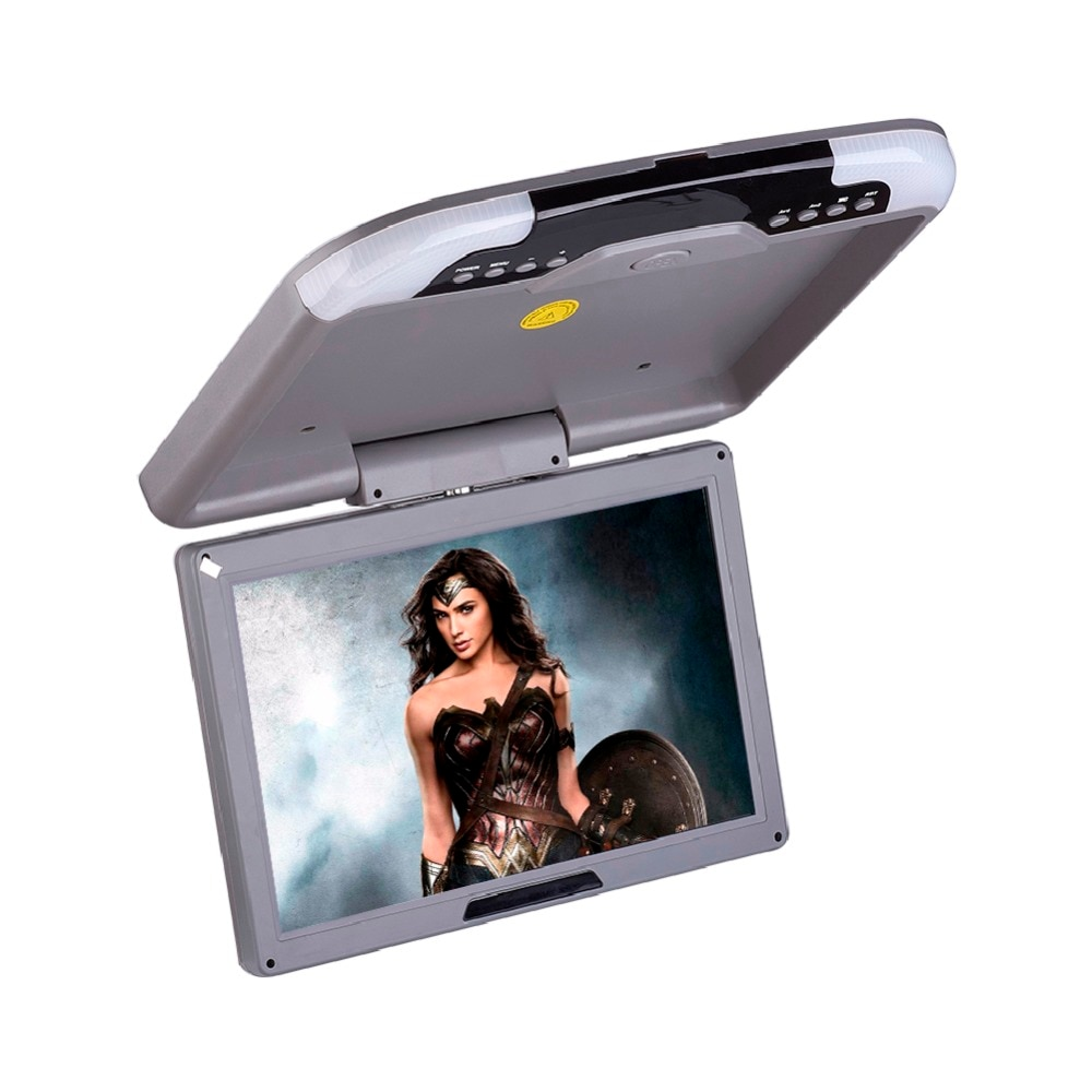 13 Inch LCD TFT Car Ceiling  Monitor Roof Flip Dowm Monitors Automobile Ceiling Digital Wide Screen Monitors
