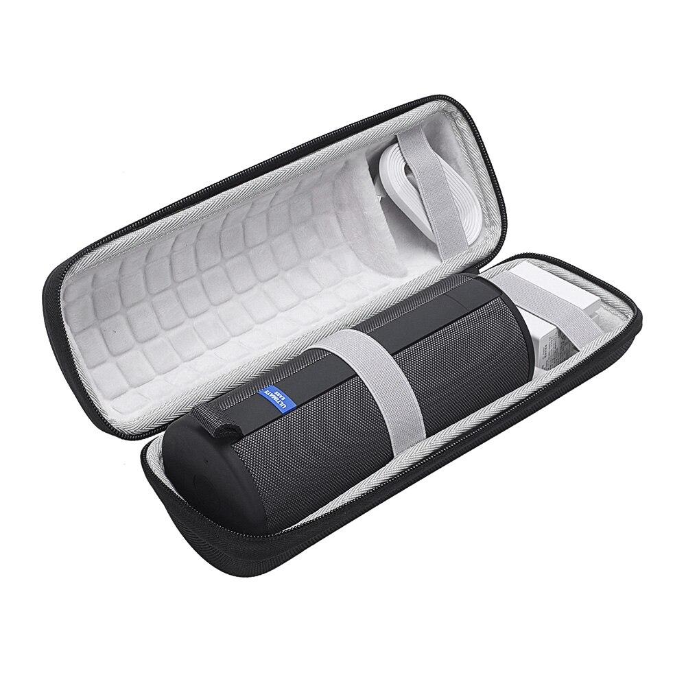 2019 funda protectora rígida bolsa de almacenamiento estuche de viaje y transporte para Ultimate Ears UE Boom 3 Altavoz Bluetooth inalámbrico portátil