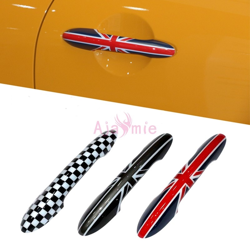 Accessories For BMW Mini Cooper Clubman Countryman Door Handle Cover Scratch Protector Moulding Trims Auto Car Styling