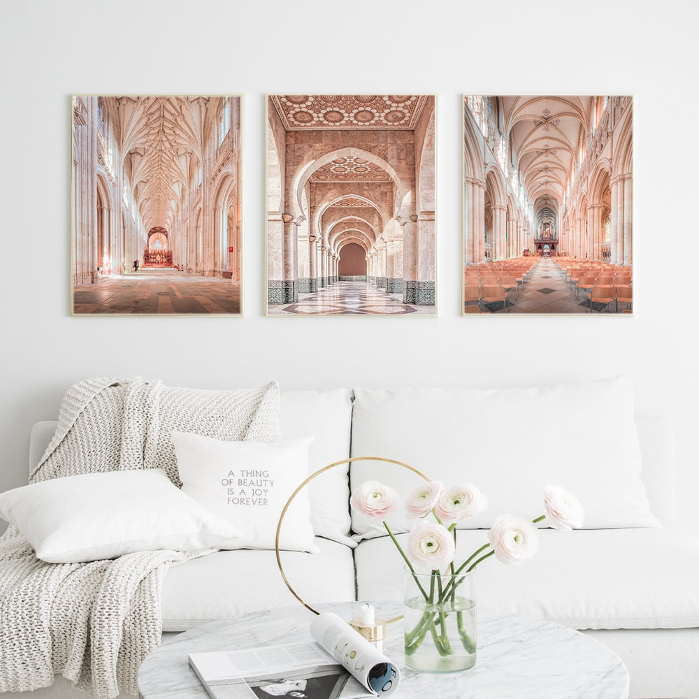 Cuadros Decoracion Dormitorio Marrocos Porta Do Vintage Poster Parede Pictures Para Sala Art Na Pintura Da Lona Imagem Decor