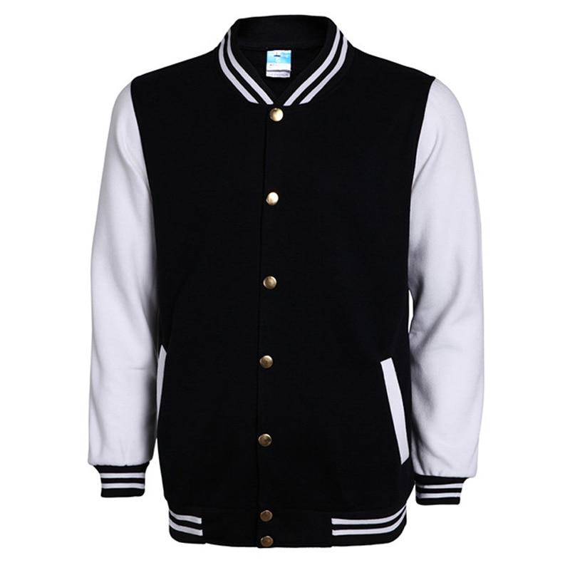 Chaqueta de béisbol de Instituto 2020, chaqueta de otoño para hombre, chaqueta ajustada de moda para hombre, chaqueta universitaria de algodón informal