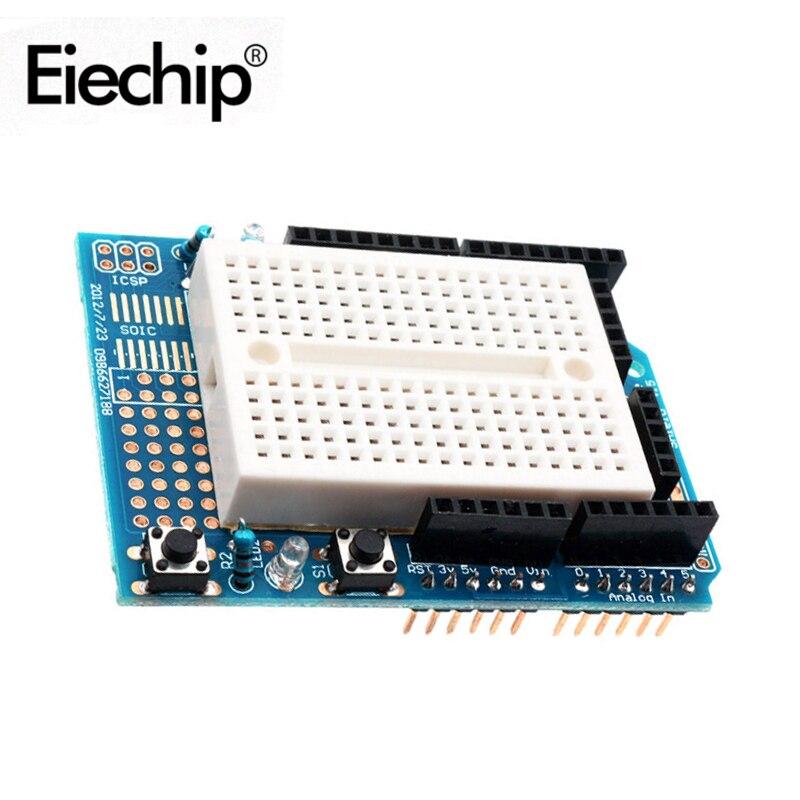 Макетная мини-плата для Arduino UNO Proto, набор для самостоятельного изготовления, макетная плата SYB170, макетная плата на основе хлеба