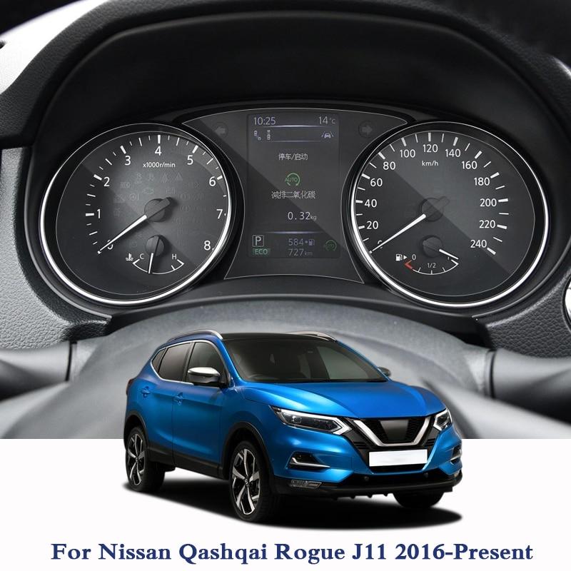 Para Nissan Qashqai Rogue J11 2016-presente para pantalla de navegación GPS protector de vidrio película de pantalla de salpicadero película protectora