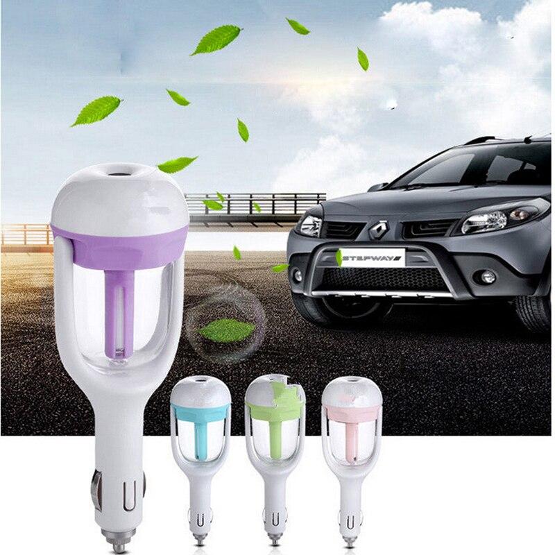 Автомобильный освежитель воздуха, масляный диффузор, ароматерапия, генератор тумана, распылитель, Автомобильный увлажнитель, очиститель в...