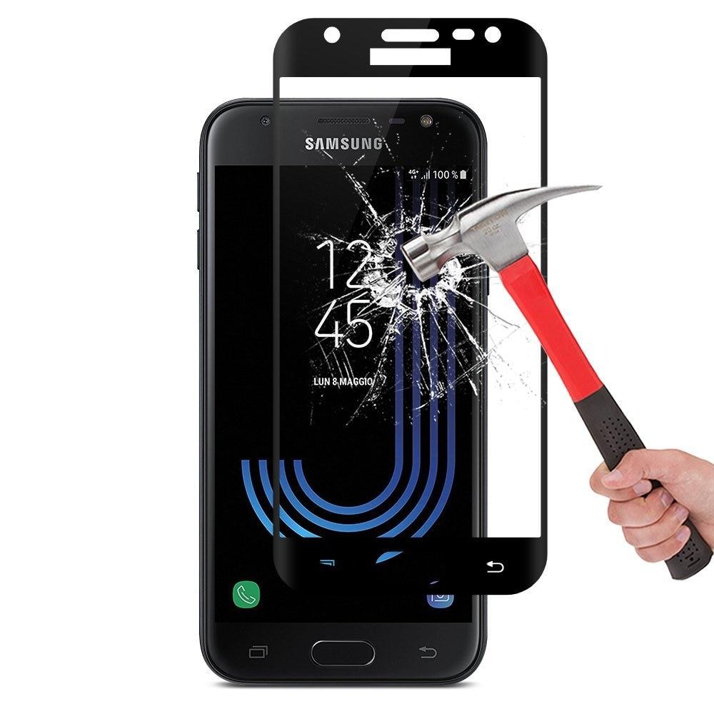 Полное покрытие стекло для Samsung Galaxy J7 2017 J730F/DS J3 2017 S6 S7 J2 J5 J7 2016 Prime J510 A5 A520 чехол Защитная крышка для экрана
