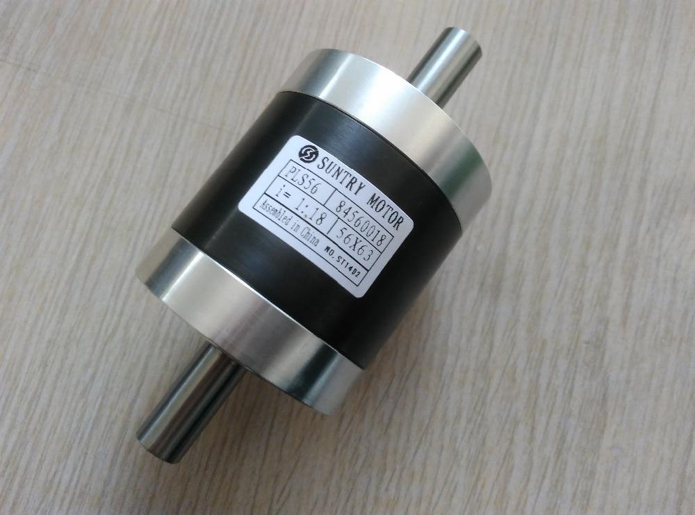 13.6 14 14.25 engranaje planetario de doble eje caja de cambios de doble eje PLS56 también utilizado como reductor de velocidad