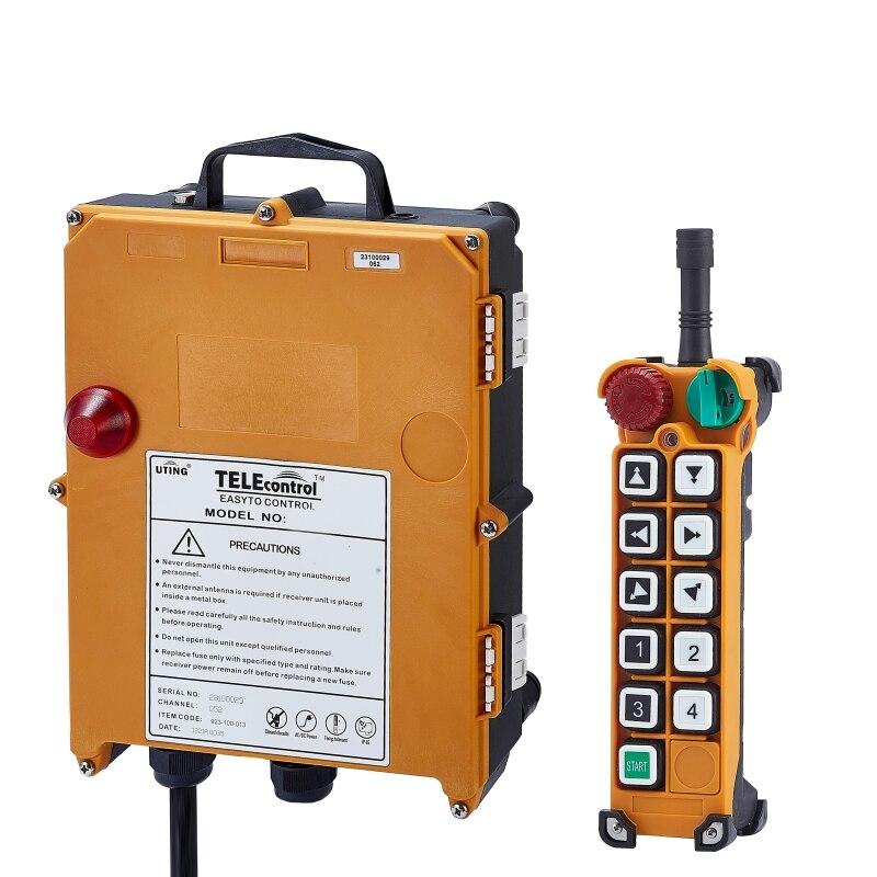 F24-D3 industrial wireless universal radio remote control for overhead crane AC/DC