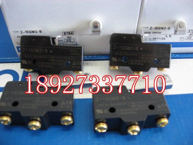 [ZOB] New original Omron omron micro switch Z-15GW2-B factory outlets  --20PCS/LOT
