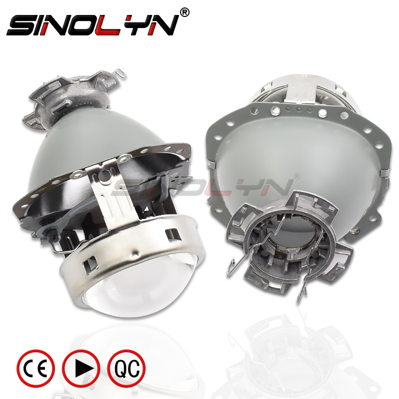 Sinolyn E55 Headlight Lens Tuning For Audi A6 C6/BMW E60 X5 E53 E61 E65 E85/Benz W211 W212 D1S D2S D