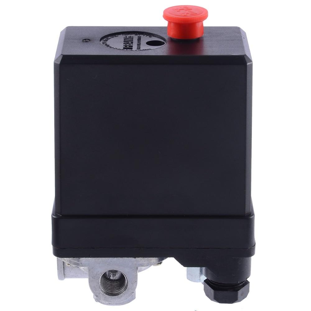 1 шт. 3-фазный 380/400 в компрессор переключатель давления Сверхмощный переключатель давления для воздушного компрессора регулирующий клапан Mayitr