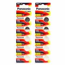 10PCS Panasonic 100% Original CR1620 Button Cell Battery For Watch Car Remote Key cr 1620 ECR1620 GPCR1620 3v Lithium Battery