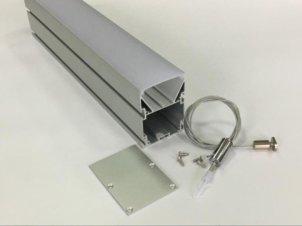 Envío Gratis, 1,2 m/unids, 30 unids/lote, gran calidad, mejor precio, tira de led, perfil de carcasa de aluminio, canal de aluminio led empotrado
