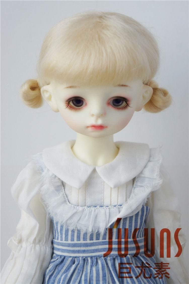 JD142 SD 1/3 amor dos pony BJD Peluca de muñeca de angora Guyomi Mohair peluca tamaño 8-9 pulgadas muñeca Accesorios