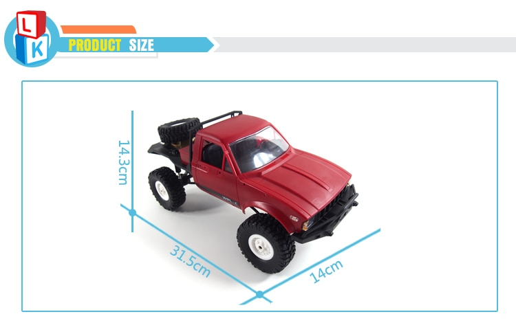 Hobby Electric Headlights off-road 4x4 rc Car for Kids Playing Climbing Remote Control Car Truck uzaktan kumandali araba enlarge