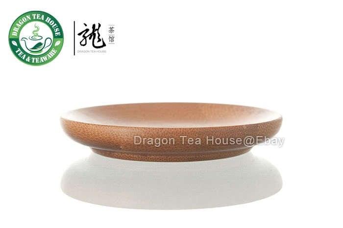 Posavasos redondo de bambú * bandeja para servir taza de té * 6