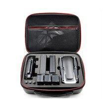 Waterproof Hardshell Mavic Air Handbag Carry Case for DJI MAVIC AIR Drone Body Remote Control and 3 Batteries