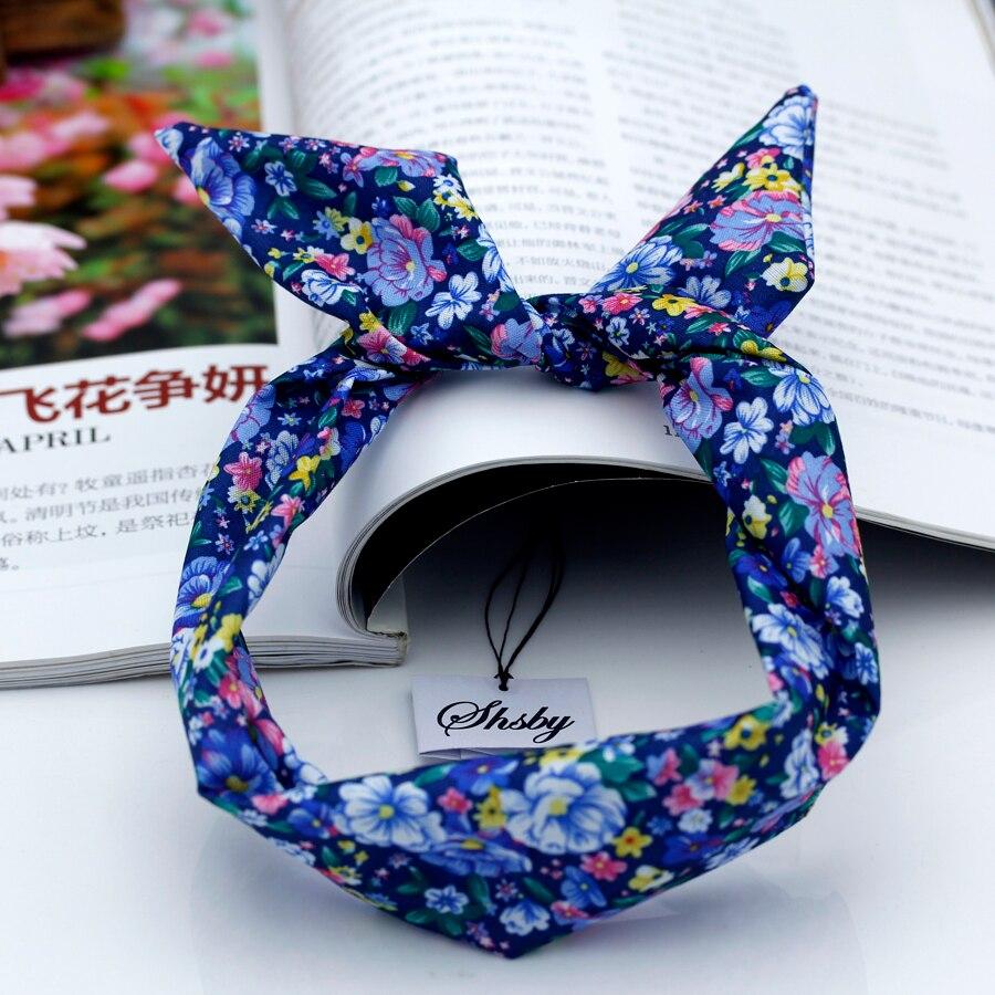 Shsby Watch accessories Ladies flower cloth  Watch Bands women Wrist Bands For Clock Children Headwe