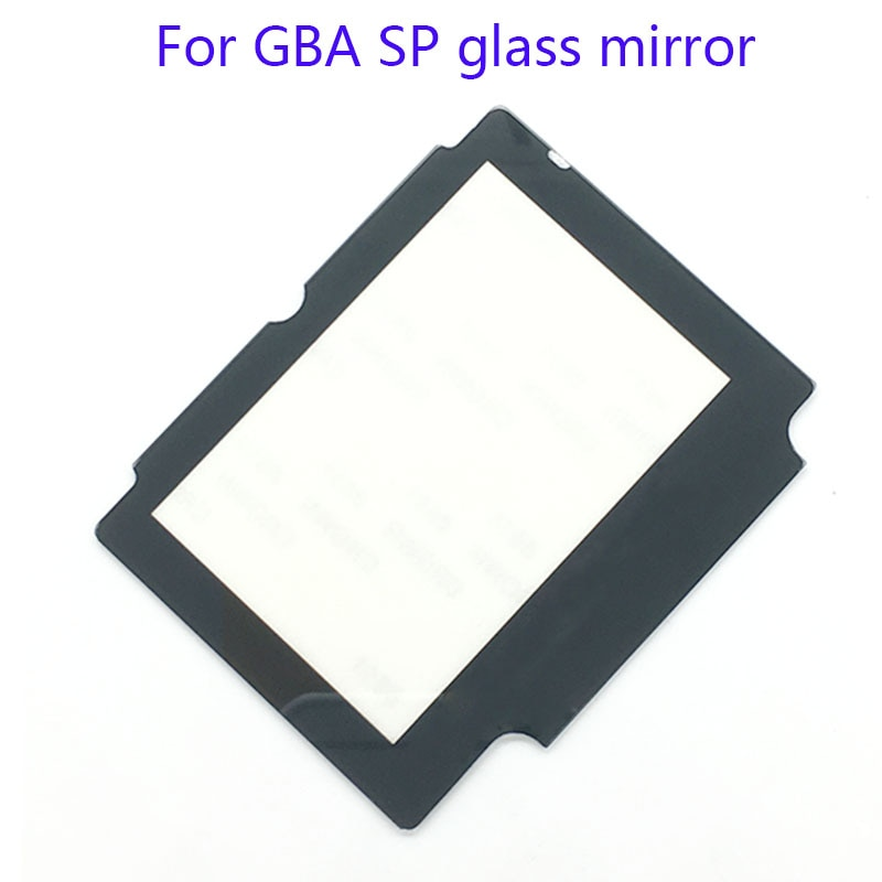 2 шт Стекло Замена ЖК-экран Защитная панель для объектива Запасная часть для Nintendo GBA SP W/клейкая лента