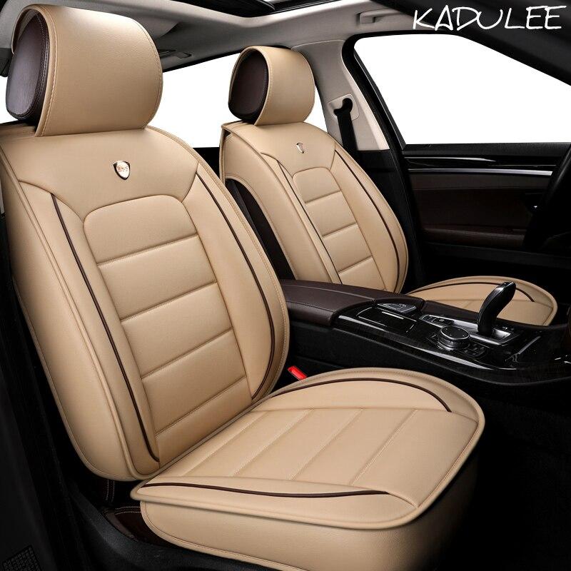 Чехол для автомобильного сиденья KADULEE из искусственной кожи для dodge journey challenger ram 1500 caliber nitro, автомобильные аксессуары, автостайлинг, автомоб...