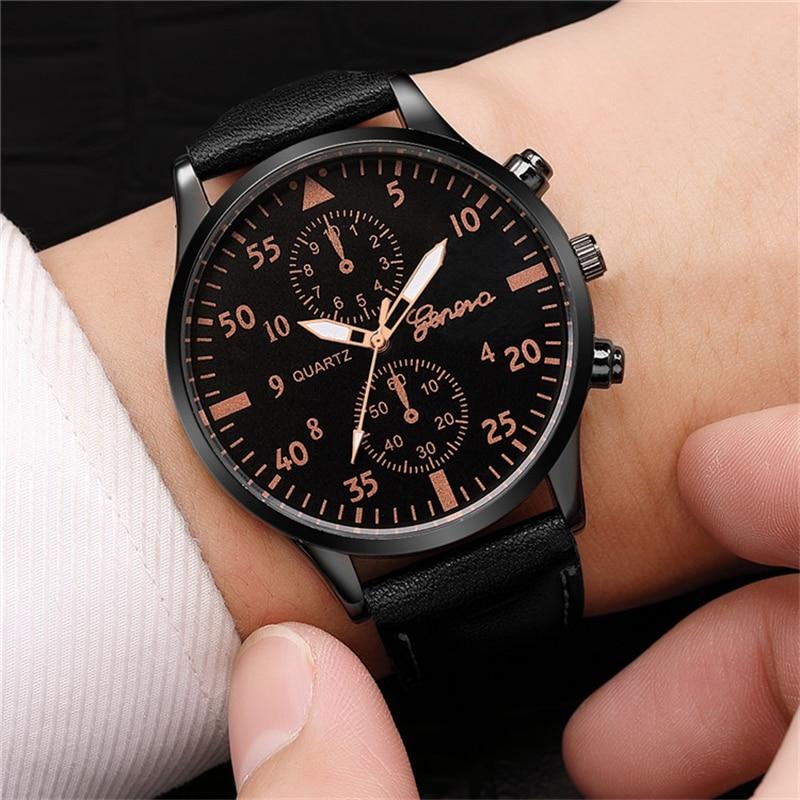 Reloj, 2019, модные военные кварцевые мужские часы, кожаные спортивные часы, высококачественные наручные часы, Relogio Masculino Saat Hodinky