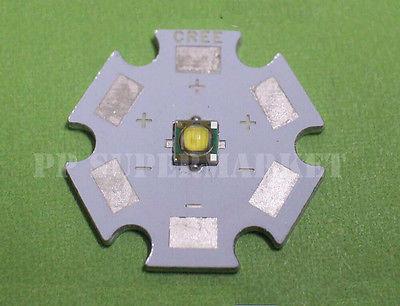 Cree XP-G XPG R5 blanco 5w 4500k LED emisor de chip con 20mm estrella Base