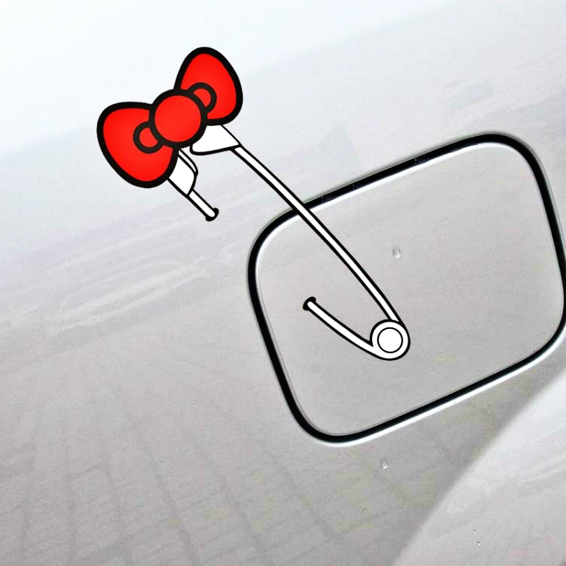 Etie New Cute Bow Pin Car Sticker Creative Decal Decoration for BMW X1 X3 X5 1series 3series 5series 7series ///M Series etie car styling sports mind produced by m performance power sticker