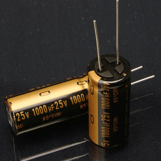 2020 hot sale 50PCS new Japanese original nichiconKZ 1000Uf/25V audio electrolytic capacitor minimum packaging free shipping