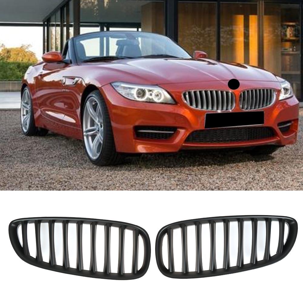 Rejilla delantera deportiva para coche, de plástico ABS, color negro mate, 2009-2015, para BMW E89 Z4 20i 23i 28i 30i 35i