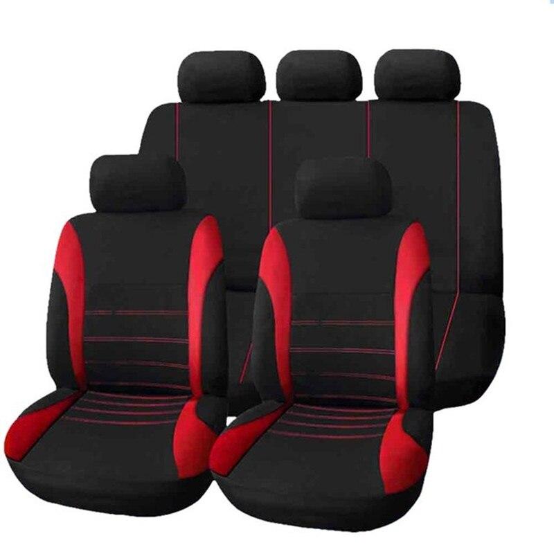 Conjunto de fundas de asiento de coche Protector Universal de asiento de automóvil para citroen chevy elysee c2 c3 c4 picasso pallas c4l c5 ds5 xsara C3-XR
