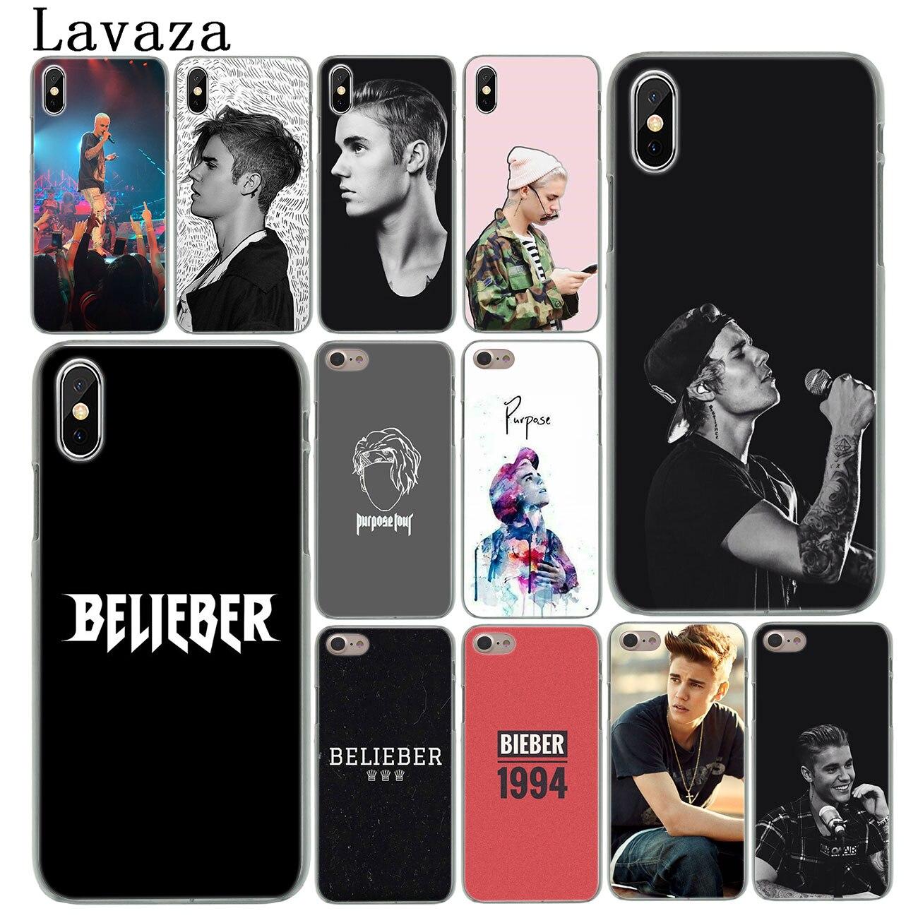 Lavaza Justin Bieber funda de teléfono dura caso para iPhone XR X 11 Pro XS Max 8 7 6S 6 5 5S SE 4S 4 10