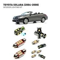 led interior lights for toyota solara 2004 2008 11pc led lights for cars lighting kit automotive bulbs canbus