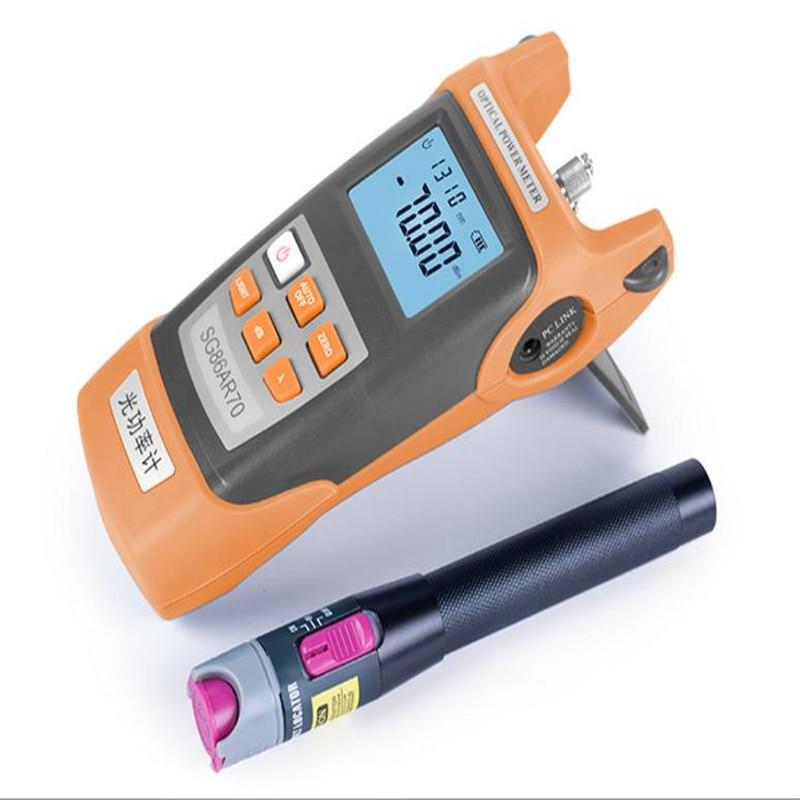Optical Power Meter -70~+3 /-50~+20 + Visual Fault Locator  set, fiber tester,