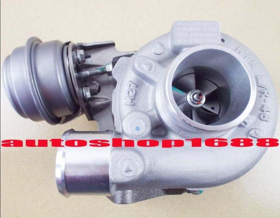 GTB1649V 757886 28231-27450 turbo para Hyundai Sonata Santa Fe Tucson KIA Ceed Carens Magentis Sportage 2.0 CRDi II D4EA