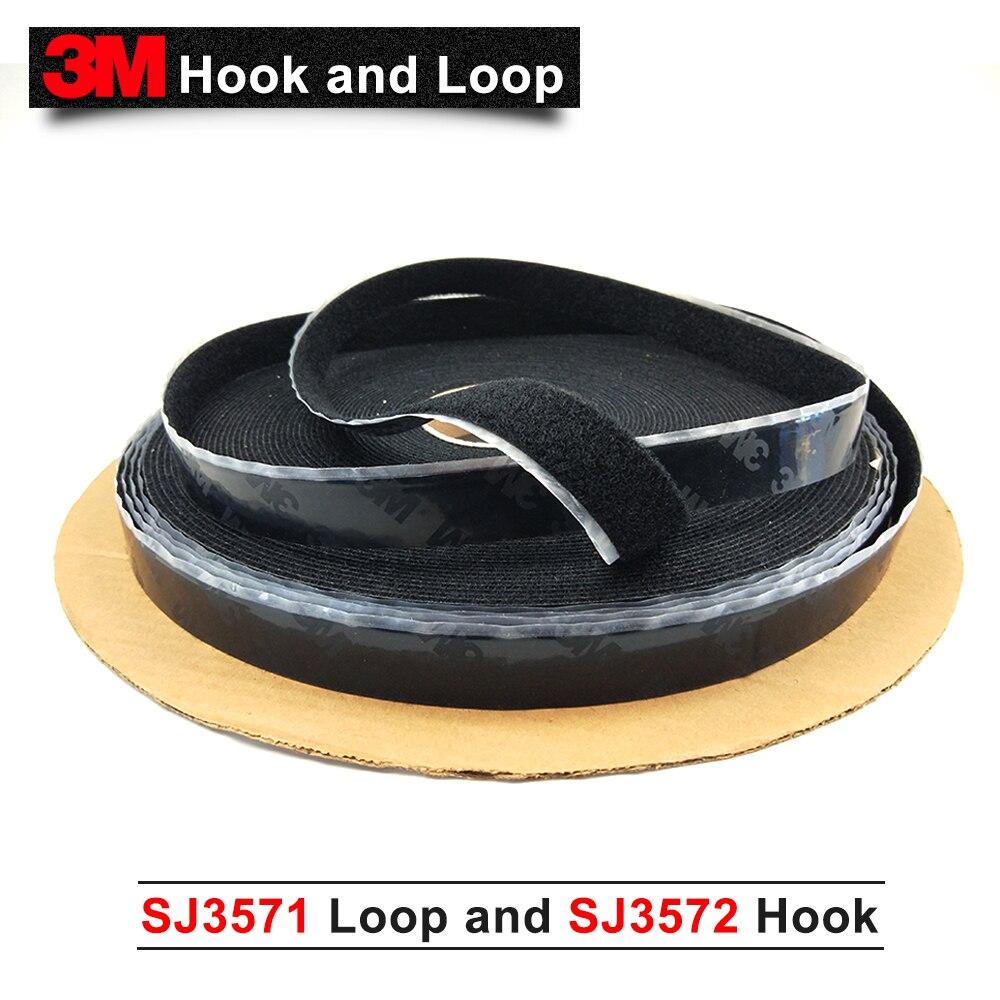 3 متر هوك وحلقة الحزام الإبزيم SJ3571 و SJ3572 ، 3 متر الشريط الأصلي 1in * 50 ساحات الأسود هوك حلقة السحابة الشريط الأسود