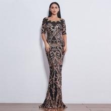 Slim Floor-Length woman Dress 2019 Wedding Evenging Party Elegant Floor Long Dress Floral Ladies Mer