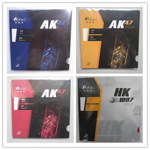 Накладки для настольного тенниса Palio 40+, Резиновые накладки на ракетки для настольного тенниса, золотистого цвета, AK 47 и HK1997